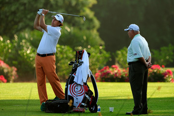 Phil Mickelson Butch Harmon THE PLAYERS Championship - Preview Day 3