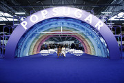 Amy Aniobi and Issa Rae attend POPSUGAR Play/Ground at Pier 94 on June 23, 2019 in New York City.