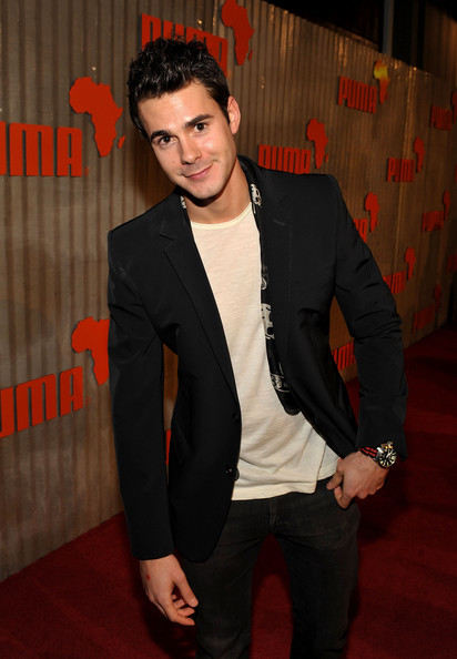 Actor Jayson Blair arrives at The African Bazaar presented by PUMA held at the Historic 5410 Wilshire Building on November 11, 2009 in Los Angeles, California.