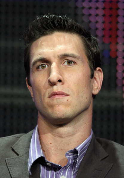 """Pablo Schreiber Actor Pablo Schreiber of the television show """"Lights Out"""" speaks during the FX portion of the 2010 Summer TCA Press Tour at the Beverly Hilton Hotel on August 3, 2010 in Beverly Hills, California."""
