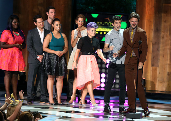 Young Hollywood Awards Show [entertainment,performing arts,performance,musical,musical theatre,heater,event,fashion,drama,performance art,kelly oscourne,matt mcgorry,pablo schreiber,danielle brooks,ansel elgort,nat wolff,alysia reiner,young hollywood awards,samsung galaxy,samsung galaxy - show]