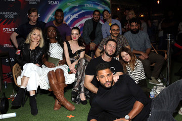 Pablo Schreiber Ricky Whittle 'American Gods' And 'Now Apocalypse' Live Viewing Party At #TwitterHouse