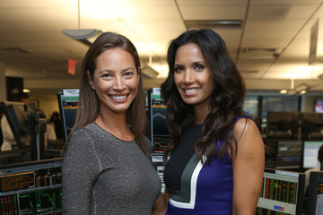 Padma Lakshmi Annual Charity Day Hosted By Cantor Fitzgerald And BGC - Cantor Fitzgerald Office - Inside