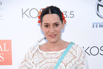 Paget Brewster Guests Attend the 2015 Festival of Arts Celebrity Benefit Concert and Pageant