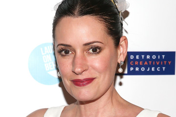 Paget Brewster The Detroit Party Benefitting The Detroit Creativity Project - A Laugh On Behalf Production Hosted By Keegan-Michael Key