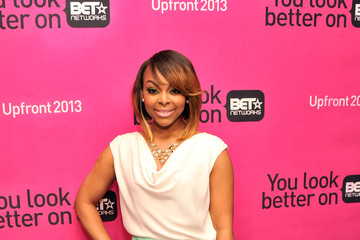 Paigion Celebs at BET Networks New York Upfront