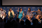 (L-R) Raphael Bob-Waksberg, Kate Purdy, Rosa Salazar, Angelique Cabral and Constance Marie of 'Undone' appear on stage at The Paley Center For Media's 2019 PaleyFest Fall TV Previews - Amazon at The Paley Center for Media on September 06, 2019 in Beverly Hills, California.
