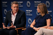 "Holt McCallany and Anna Torv of ""Mindhunter"" appear on stage at The Paley Center for Media's 2019 PaleyFest Fall TV Previews - Netflix at The Paley Center for Media on September 15, 2019 in Beverly Hills, California."
