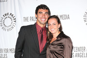 Ricky Berens (L) and Rebecca Soni attend The Paley Center for Media's Annual Los Angeles Benefit at The Rooftop Of The Lot on October 22, 2012 in West Hollywood, California.