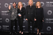 (L-R) Sir Ringo Starr, Barbara Bach, Joe Walsh and Marjorie Walsh attend the Paley Center for Media's 'Paley Honors In Hollywood: A Gala Tribute To Music On Television' at the Beverly Wilshire Four Seasons Hotel on October 25, 2018 in Beverly Hills, California.