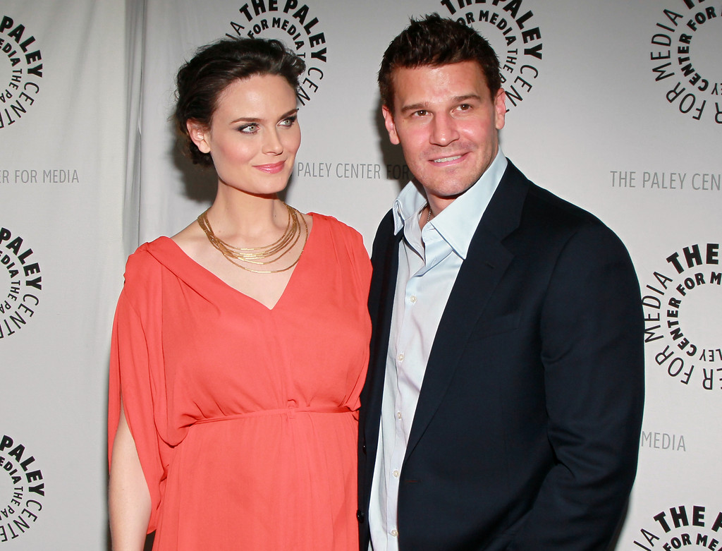 Emily Deschanel and Da...