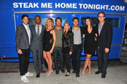 """Show creator David Caspe, actors Daman Wayans Jr., Eliza Coupe, Zachary Knighton, Elisha Cuthbert, Adam Pally, Casey Wilson and executive producer Jonathan Groff attend The Paley Center for Media's An Evening with """"Happy Endings"""" on August 29, 2011 in Beverly Hills, California."""