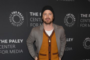 "Aaron Paul attends the ""Truth Be Told"" screening at Paley Center For Media on December 12, 2019 in New York City."