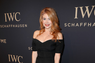"Palina Rojinski IWC Schaffhausen at SIHH 2017 ""Decoding the Beauty of Time"" Gala Dinner"