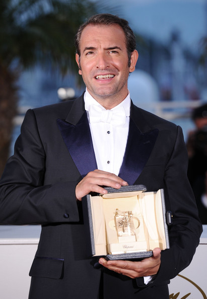 Palme d 39 or winners photocall 64th annual cannes film for Dujardin nicolas