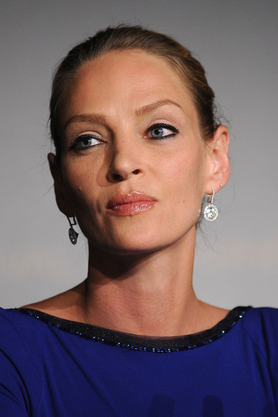 Actress Uma Thurman attends the Palme d'Or Winners Press Conference during the 64th Annual Cannes Film Festival at Palais des Festivals on May 22, 2011 in Cannes, France.