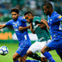 Leo Photos - (L-R) Leo of Cruzeiro, Borja of Palmeiras and Dede of Cruzeiro compete for the ball during the match for the Copa do Brasil 2018 at Allianz Parque Stadium on September 12, 2018 in Sao Paulo, Brazil. - Palmeiras v Cruzeiro - Copa do Brasil 2018