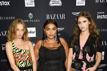 Paloma Elsesser Harper's BAZAAR Celebrates 'ICONS' At The Plaza Hotel