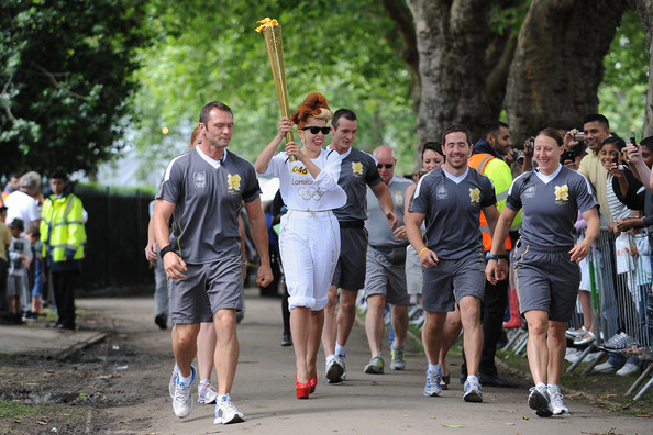 The Olympic Torch Begins Its Journey Around London