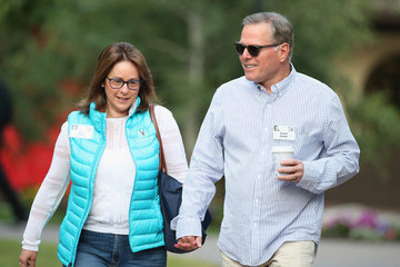 Pam Zaslav Business Leaders Converge in Sun Valley, Idaho for the Allen and Company Annual Meeting