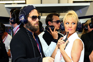 Pamela Anderson F1 Grand Prix of USA - Qualifying