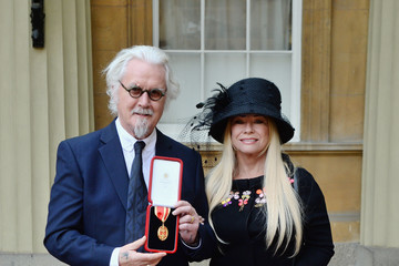 Pamela Stephenson Investitures at Buckingham Palace