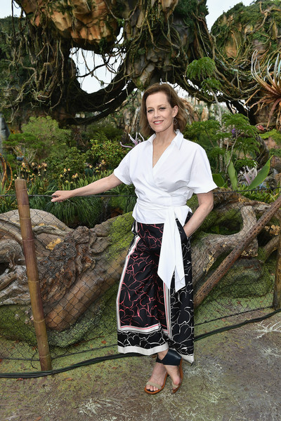 Sigourney Weaver In Pandora The World Of Avatar Dedication Zimbio