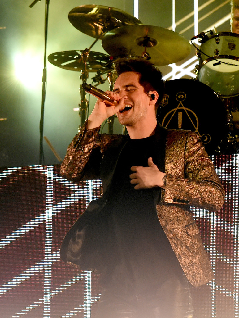 Brendon Urie Photos Photos - Panic! At the Disco Performs at