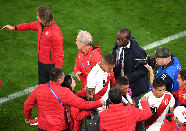France vs. Peru: Group C - 2018 FIFA World Cup Russia [team,team sport,player,red,sports,sport venue,ball game,stadium,football player,tournament,players,peru,russia,france,pitch,ekaterinburg arena,yekaterinburg,group c - 2018 fifa world cup,group c match,2018 fifa world cup]