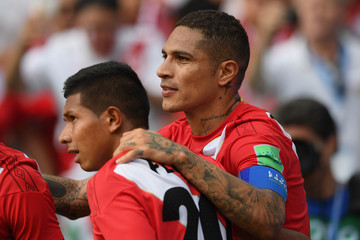 Paolo Guerrero Australia Vs. Peru: Group C - 2018 FIFA World Cup Russia