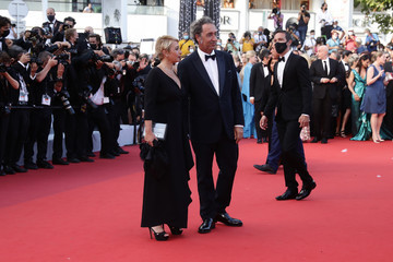 """Paolo Sorrentino """"OSS 117: From Africa With Love"""" Final Screeing & Closing Ceremony Red Carpet - The 74th Annual Cannes Film Festival"""