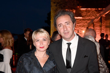 Paolo Sorrentino Kering and Cannes Festival Official Dinner : Cocktail at the 70th Cannes Film Festival