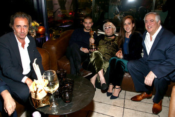 """Paolo Sorrentino Lina Wertmuller """"True Italian Taste"""" Gala Reception Dinner Co-Hosted By The Italy-America Chamber Of Commerce West And Italian Soccer Superstar Alessandro Del Piero At Del Piero's Los Angeles Restaurant N.10"""