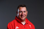 John Walker, a member of the ParalympicsGB Archery team, poses for a portrait during the Paralympics GB Media Day at Park Plaza Westminster Bridge Hotel on July 16, 2016 in London, England.