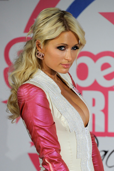 hilton nude paris wallpaper. Celebrity Paris Hilton Presents Supermatxe Motorbikes in Madrid Pictures