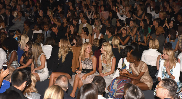 Dennis Basso - Front Row - Spring 2016 New York Fashion Week: The Shows