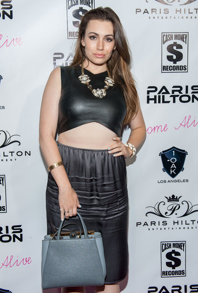 Sophie simmons in paris hilton celebrates her new single zimbio - Simmons simmons paris ...