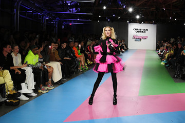Paris Hilton Christian Cowan x The Powerpuff Girls Runway Show