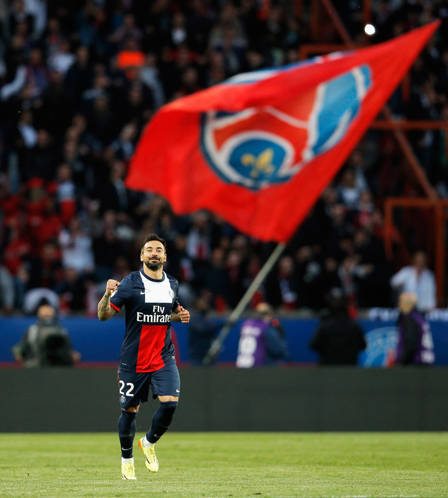 Ezequiel Lavezzi In Paris Saint-Germain FC V Stade Rennais
