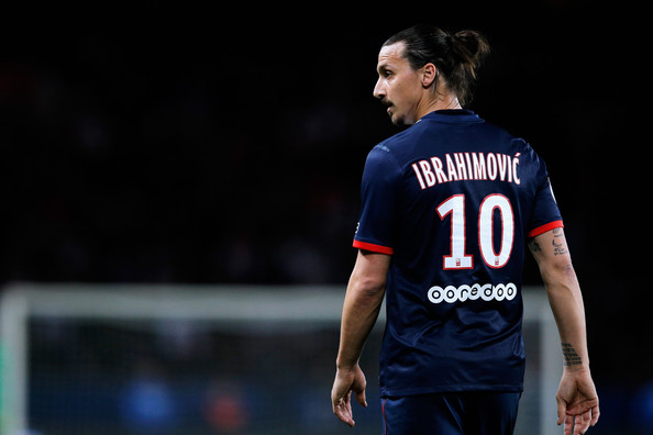 photo zlatan ibrahimovic zlatan ibrahimovic of psg looks on during