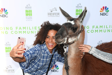 Parisa Fitz-Henley Beyond Hunger: West Meets East Brought to You by NBC Universal and Heifer International