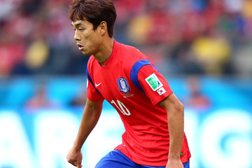 Park Chu Young Korea Republic v Algeria: Group H - 2014 FIFA World Cup Brazil