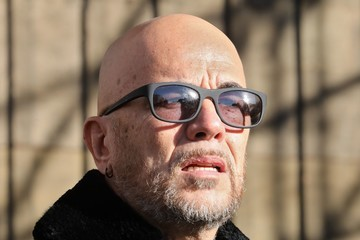 Pascal Obispo France National Tribute to Johnny Hallyday at La Madeleine Church in Paris