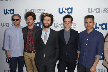 Passion Pit Celebs at the USA Upfront Event in NYC