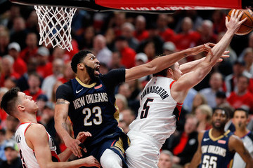 Pat Connaughton New Orleans Pelicans vs. Portland Trail Blazers - Game Two