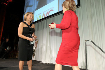 Pat Mitchell Katie Couric Inside the Women's Media Awards