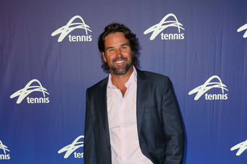 Pat Rafter Off Court at the 2017 Australian Open
