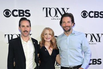 Patricia Clarkson Bradley Cooper The 2015 Tony Award Nominees Meet and Greet