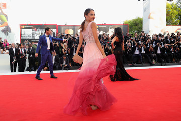 Patricia Contreras 'First Man' Premiere, Opening Ceremony And Lifetime Achievement Award To Vanessa Redgrave Red Carpet Arrivals - 75th Venice Film Festival