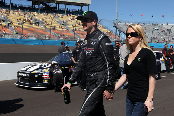 Kurt Busch and girlfriend Patrica Driscoll